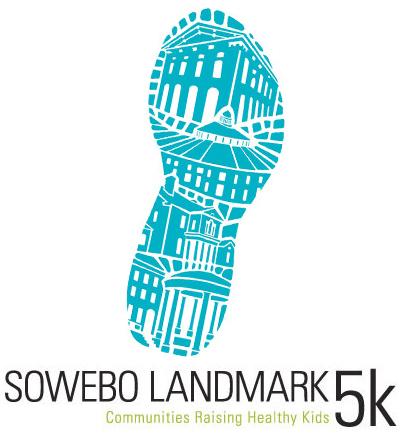 SoWeBo Landmark 5k Logo